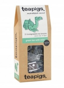 teapigs Green Tea with Mint 15 piramidek zielona