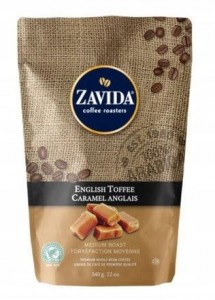 Zavida English Toffee kawa ziarnista tofi 340g